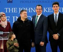 Connecticut governor honoured for welcoming Syrian refugees