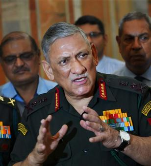 'Human shield' incident circumstances-based, not SOP: Army chief