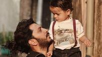 See Pic: Riteish Deshmukh's son Riaan has an adorable message for him