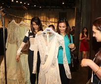 Gaurav Gupta brings his couture collection to his Kala Ghoda store