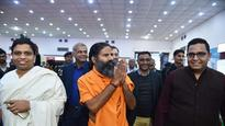 Ramdev's owned Patanjali Ayurveda opens exclusive store at Delhi airport