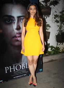 PIX: Kalki, Prateik watch Phobia with Radhika Apte