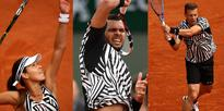 Adidas outfitted its French Open players in an audacious style inspired by 'dazzle camouflage' — and it could be distracting to opponents