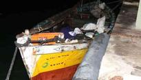 Four Indian fishermen arrested by Sri Lankan Navy for alleged poaching