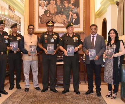 COAS releases book on history of Rashtriya Rifles by Rediff contributors