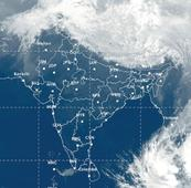 Brewing depression in Bay not to bring any showers to mainland