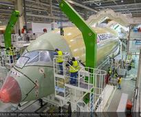 Airbus starts A350-1000 final assembly