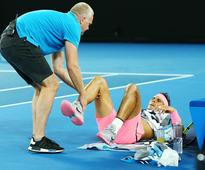 Nadal retires as Cilic storm into semi-final