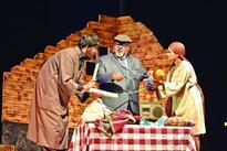 Saurabh Shuklas play Barff staged