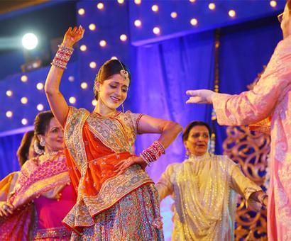 PIX: Neil Nitin Mukesh-Rukmini's fun sangeet