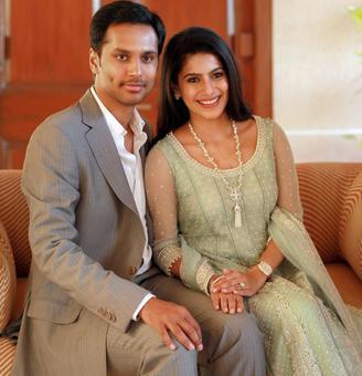 TVS heiress Lakshmi Venu ties knot with tech entrepreneur