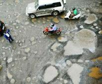 Special on-the-move vehicles to fix potholes