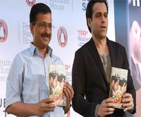 Kejriwal launches Emraan Hashmi's book on son defeating cancer