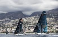 Breezeless calm keeps Oman Air at bay in Extreme Sailing Series Madeira