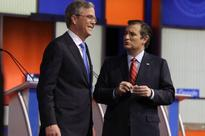 Jeb Bush and Ted Cruz spar on The Kelly File about which of them hates Trump more