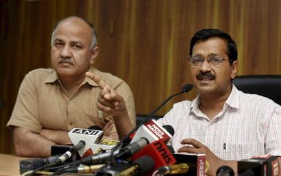 Why has Kejriwal promised to abolish property tax