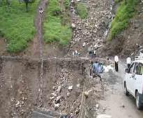 Two killed in J&K landslide