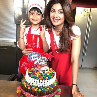 PIX: Shilpa Shetty celebrates son Viaan's birthday