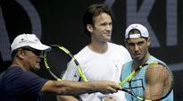 Not a big deal to hire Carlos Moya as coach, says pain-hit Rafa Nadal