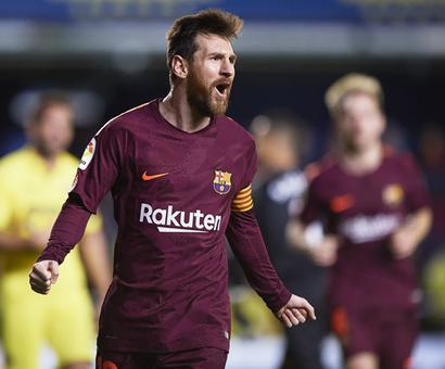 Barca 'sharp shooter' Messi equals Bayern legend Mueller's record