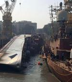 INS Betwa back on even keel