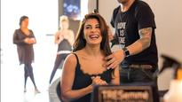 In Pictures | Jacqueline Fernandez at the Runway Studio of TRESemme at New York Fashion Week