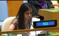 After Swaraj, Eenam Gambhir continues to flay Pakistan at UN