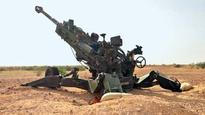 Army tests howitzer cannons at Pokharan