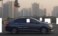 2017 Honda City Top-End Variant Spotted At Dealership Yard In India
