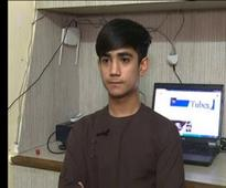 Afghan refugee boy reaches out to his community through YouTube