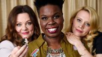 SNL's Leslie Jones gets emotional around Whoopi Goldberg