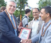 Nobel laureate Shechtman visits Chandragiri Hills
