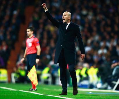 Zidane reckons game still open despite Real's first leg advantage
