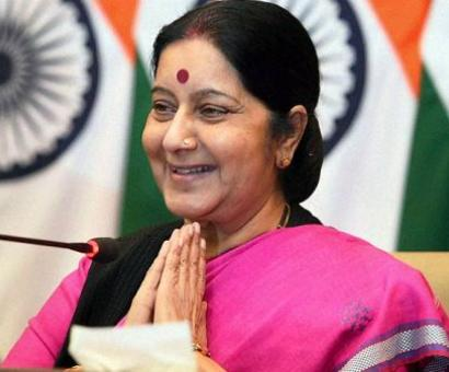 Sushma comes to the rescue of Indian woman in distress in Pakistan