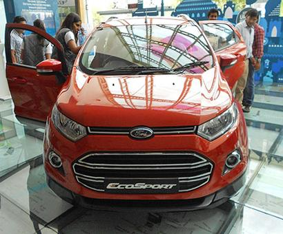 Ford rides on exports to become 3rd largest car-maker in India
