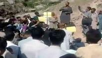 Pakistan: Protests against Pakistan Army in POK