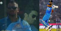 Sushant cheers Dhoni and Co. in Mohali