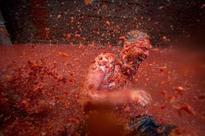 The world's biggest food fights: From La Tomatina to the World Custard Pie Championship