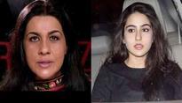Amrita Singh slams Saif for his comment on Sara's career?