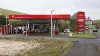 One killed in petrol station crash