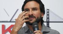 Film industry is open for world's talent: Saif