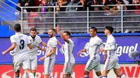 La Liga: Real Madrid thrash Eibar without Bale and Ronaldo