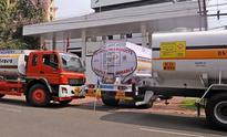 Petroleum traders stage protest against frequent strikes