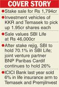 Parent to sell near 4% of SBI Life