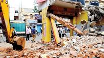 BBMP demolition not right: Congress corporator takes on party govt