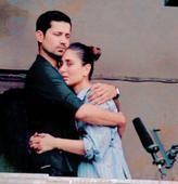 LEAKED PHOTOS: Kareena Kapoor Khan and Sumeet Vyas embrace each other during Veere Di Wedding shoot in Delhi