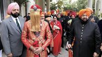 The Royal Congress wedding: Amarinder Singh's grandson ties the knot with Karan Singh's granddaughter