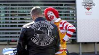 Bikers ride for Ronald McDonald house