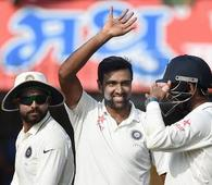 R Ashwin's six puts India in firm contr... R Ashwin's six puts India in firm control