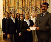 Mangaluru: KCA-UK & SKA donate 3000 pounds to Prashanth Nivas Nellyadi